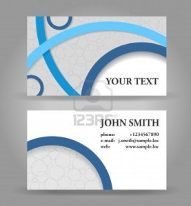 14585169-blue-and-gray-modern-business-card-template